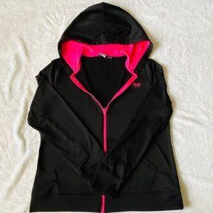 Black & Pink FILA Performance Lightweight Jacket